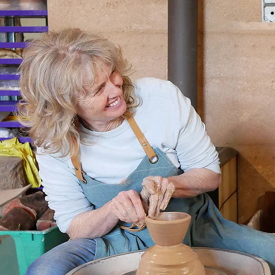 Have a go - Wheel throwing - Visit Deanne Parker, view the handcrafted ceramic wares created in White Peacock Studios, then try your hand at wheel throwing and ceramic mark making before perhaps purchasing a special something to take home.10am - 3pm FREE