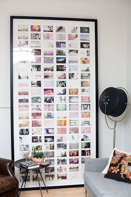 I've always wanted to do this DIY photo collage for my instagram photos.