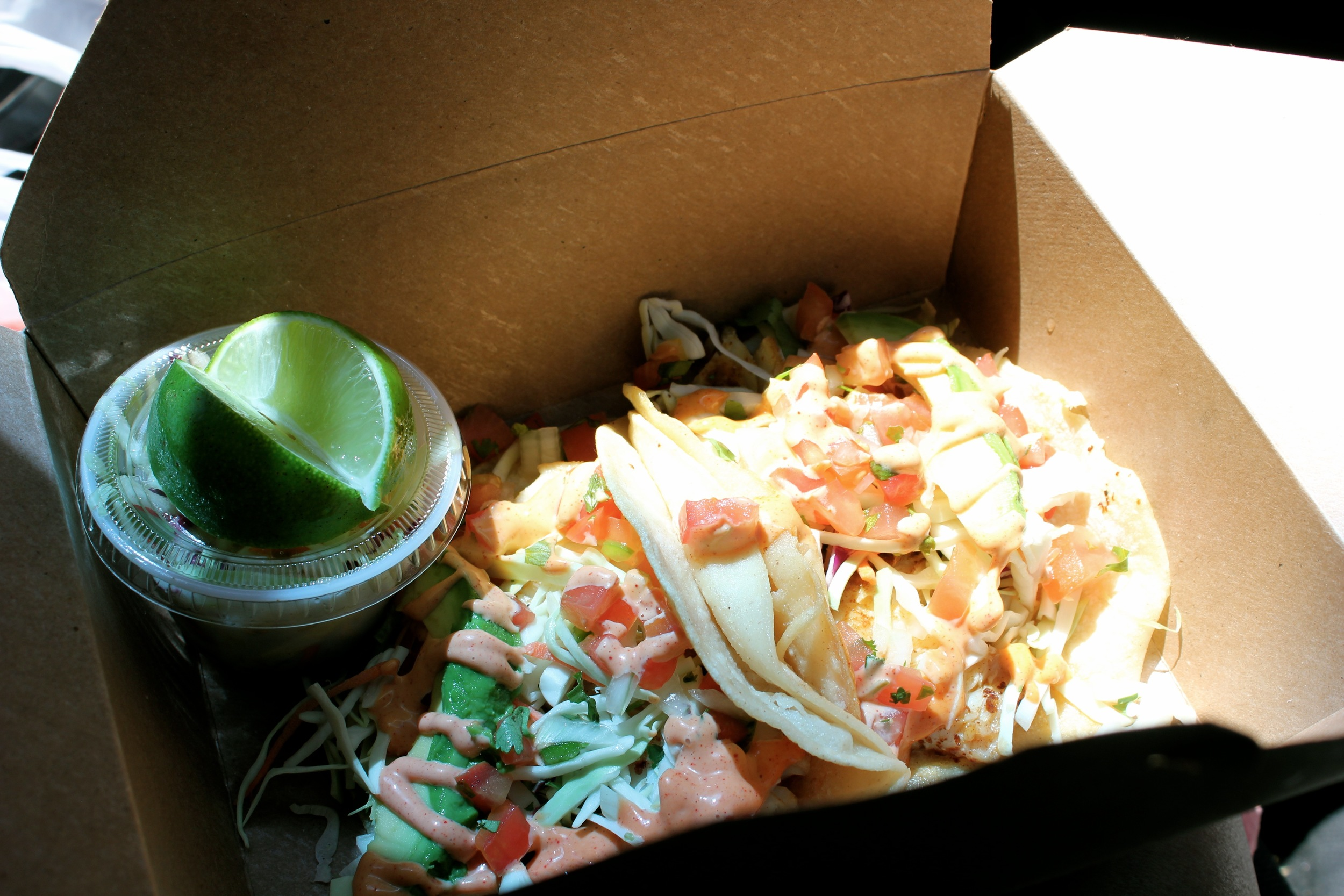 tacos for the road -  oceanbleuseafoods  - Newport, OR