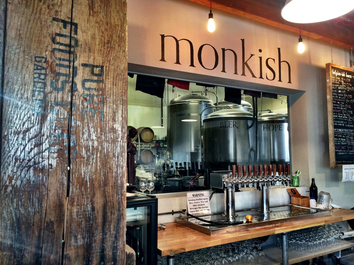 Image result for Monkish Brewing Co.