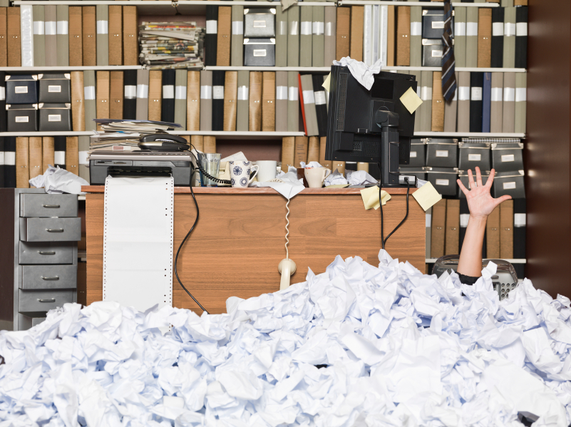 Make peace with your Paperwork