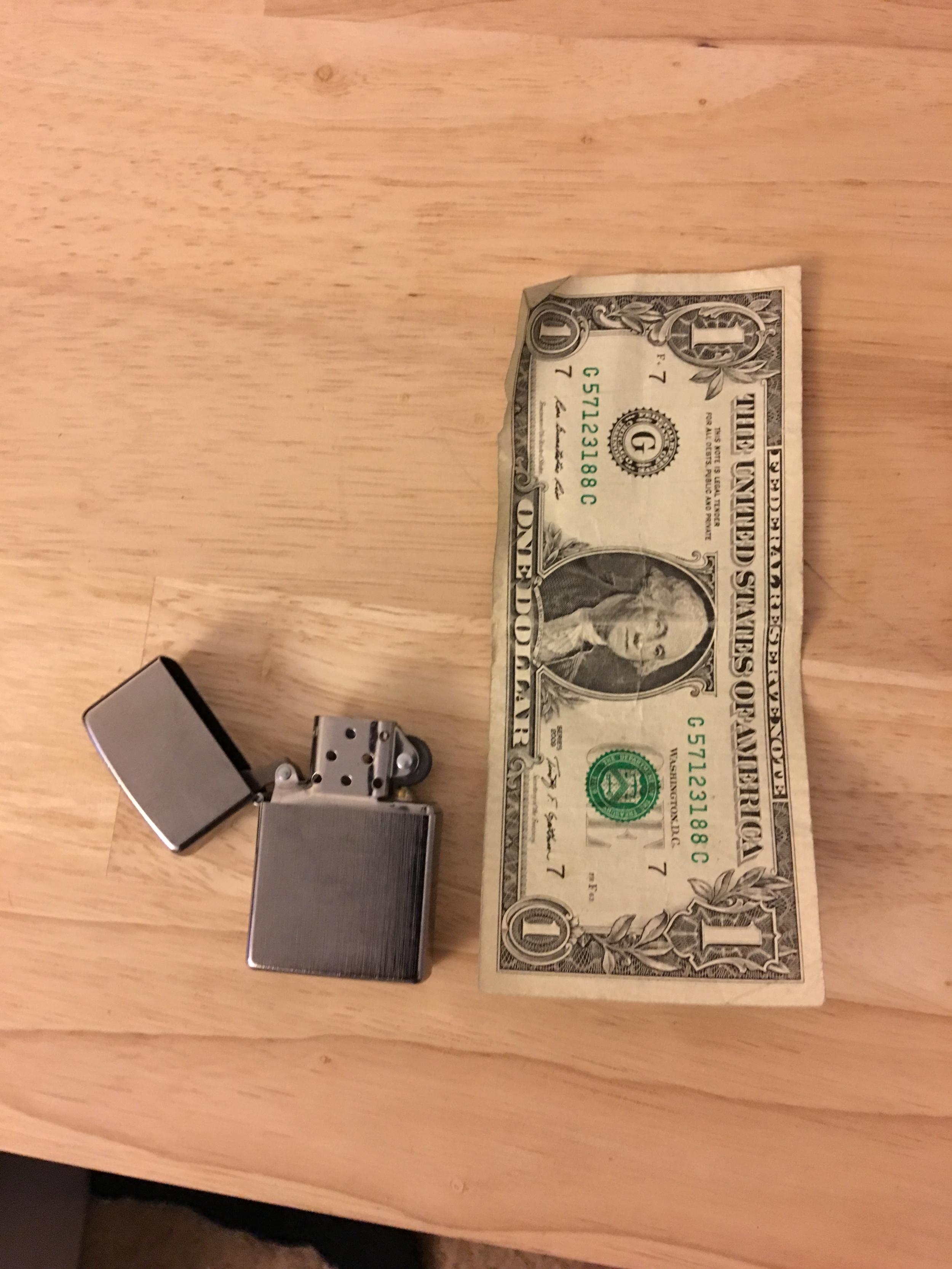Sammy's Zippo Lighter
