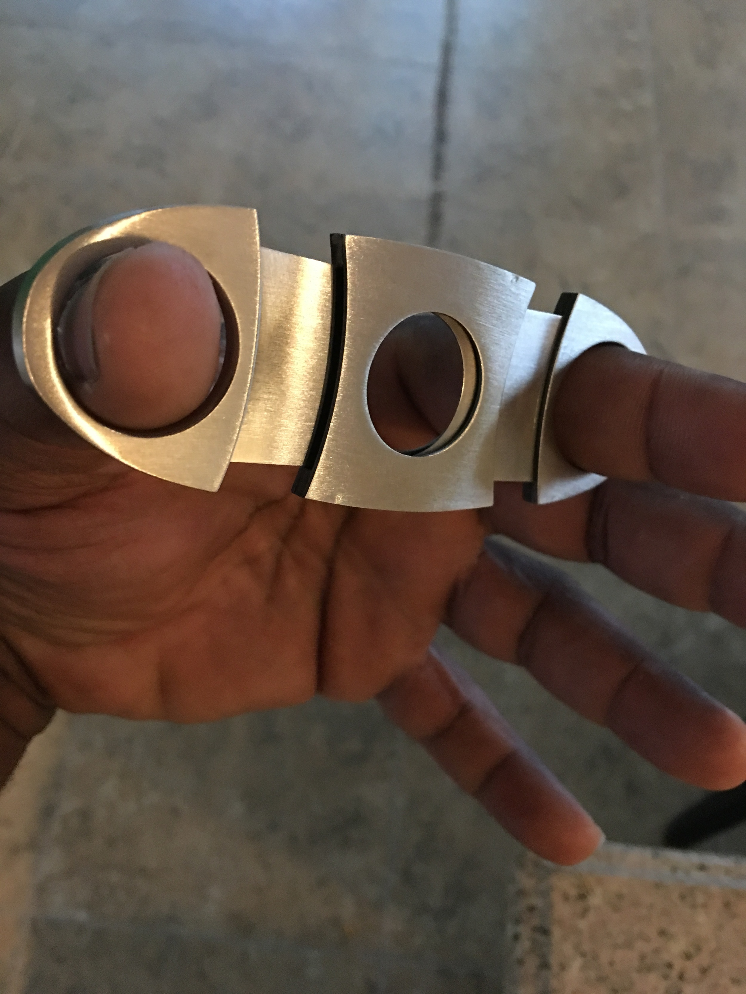 Mr. Romero's Cigar Cutter