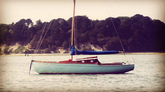 The beautiful 'Grace of Patience' Created in 1947 who has been a part of my life's loves since the year 2000 is now looking for a new nautical soul who is full of appreciation for the meeting point where art craft and sense of purpose come together on the water. . . . . . . . . . . #sailing #yaughts #woodenboat