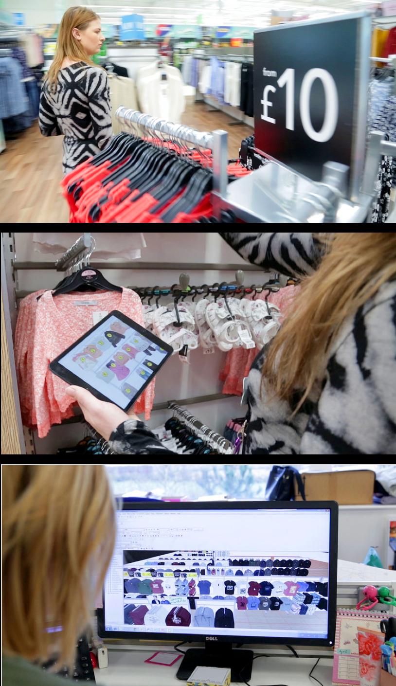 ASDA George Visual Merchandising Planograms Software Retail