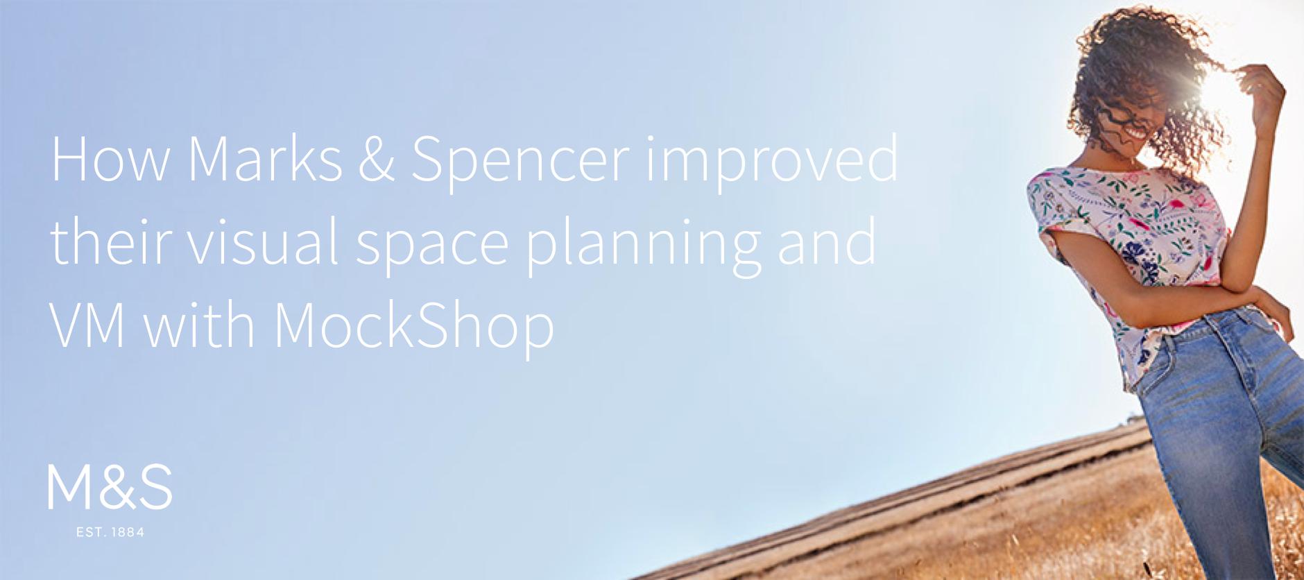 Marks & Spencer, Visual Merchandising Fashion, Retail software solution, Store planogram