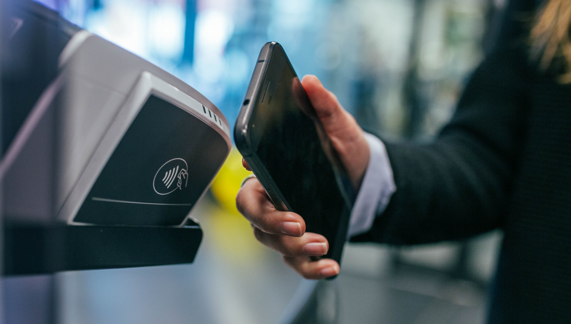 A lot of experts predict that paying cashless with your mobile device only will be the future in retail