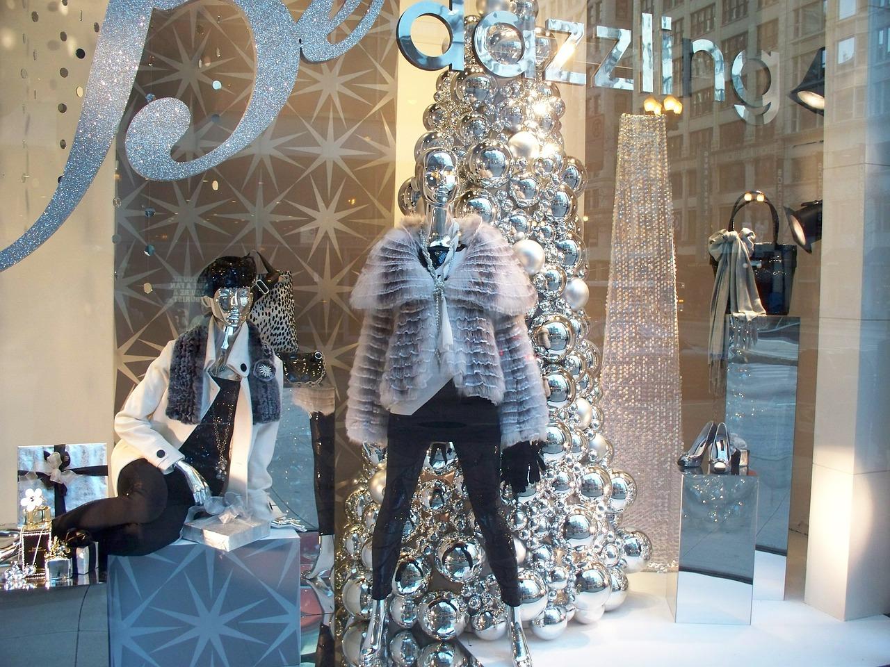 Visual Merchandising, Festive Window display