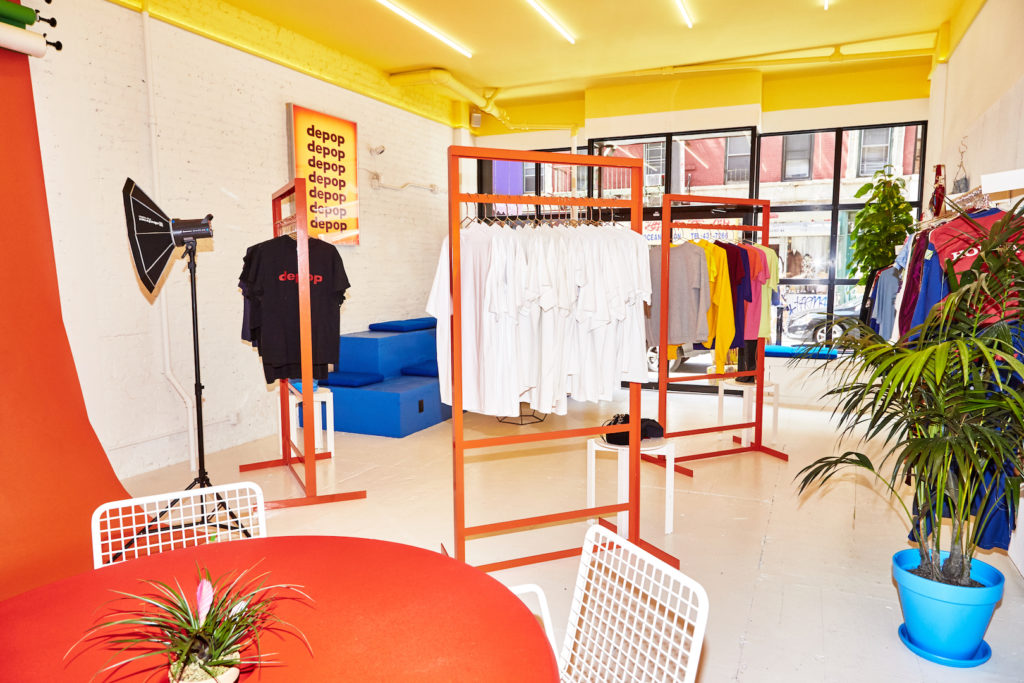 Depop store in New York
