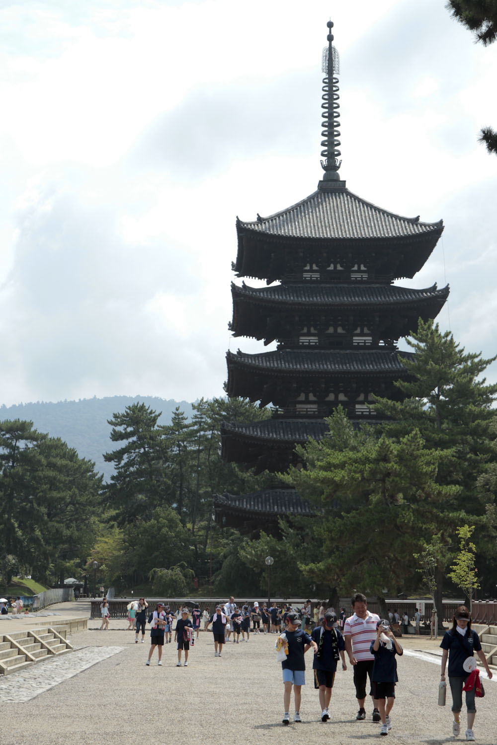 The Five-Story Pagoda of Kofuku-ji, a temple in Nara.
