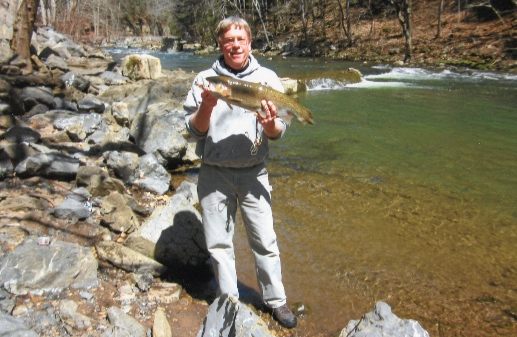 """""""I love to fish with spinners but when all else fails I always go to your CanadianNight Crawlers for results...I caught the largest trout in my 50+ years of fishing.A monster 6lb. 1 oz. - 24"""" Rainbow. Inever leave home without them on any freshwater fishing trip."""""""