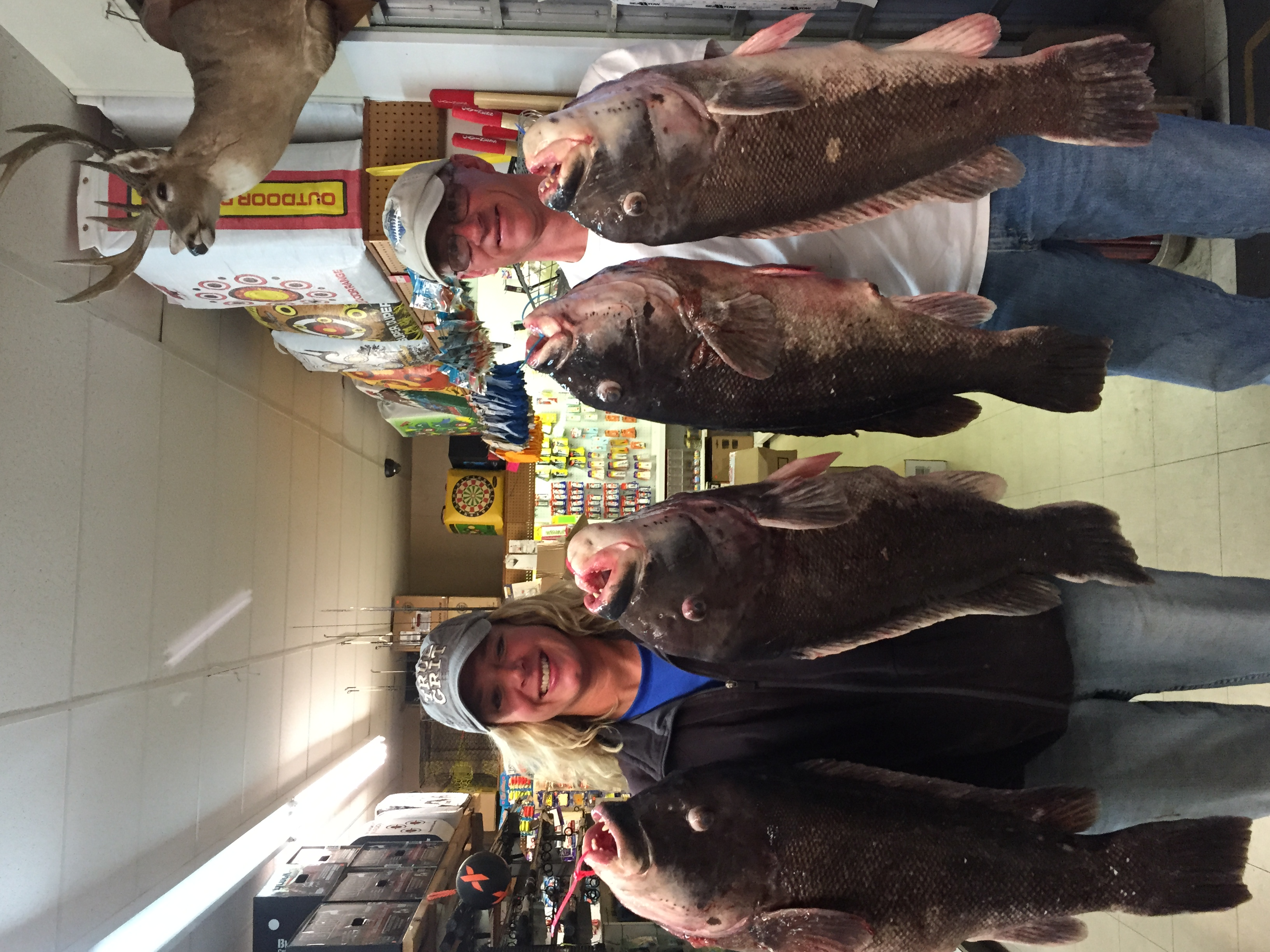 Wes Blow & Beth Synowiec caught 4 Tautog citations on4/29/15. They ranged from 16lbs 1oz to 17lbs 10oz. Congrats guys!