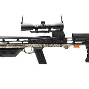 Integrated Scope Mount   At the heart of our MXB™ crossbows is the integrated BIAS Rail™, trigger, and scope mount system. This all-in-one system maintains positive scope to rail alignment for unparalleled accuracy and durability in all elements