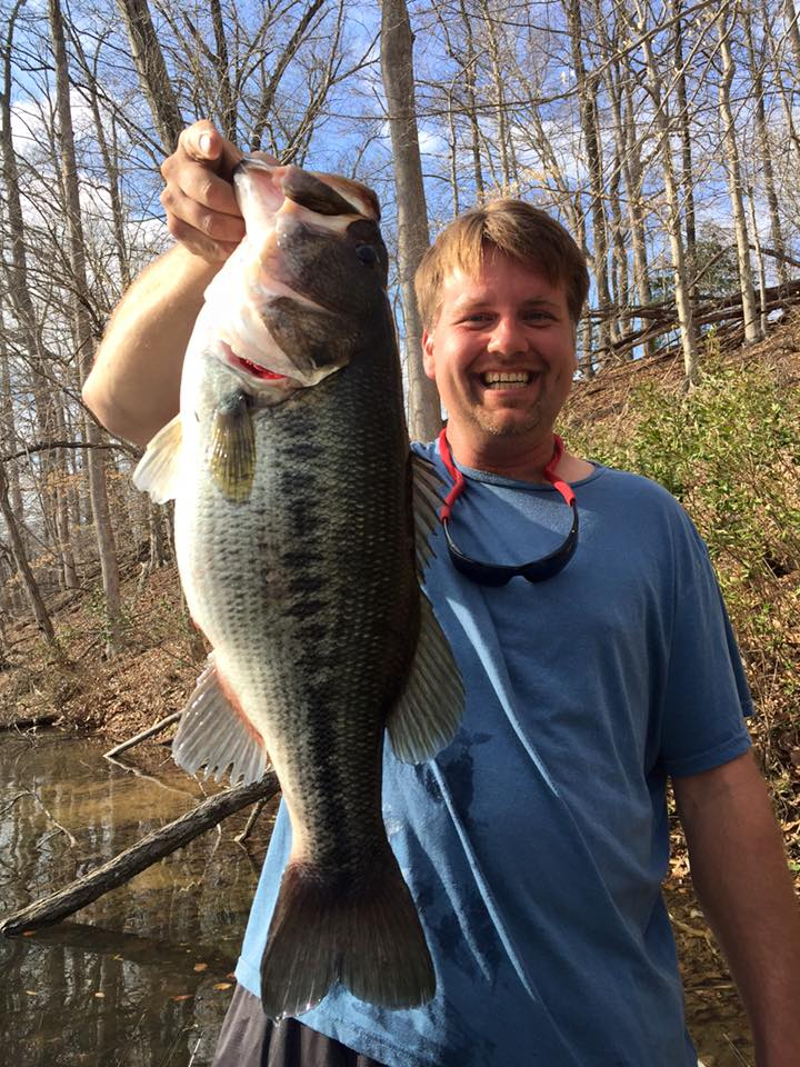 John Booth caught a beast today!! Caught on a reel he bought from Tom back in Nov 15'.