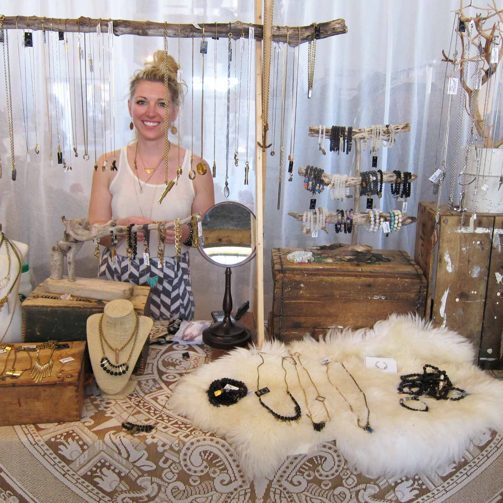 Genevieve, Owner and Designer for HEN Jewelry | INLAND Spring 2015