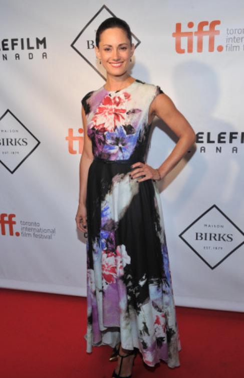 Natalie Brown - Actress - wearing  3rd Floor Studio