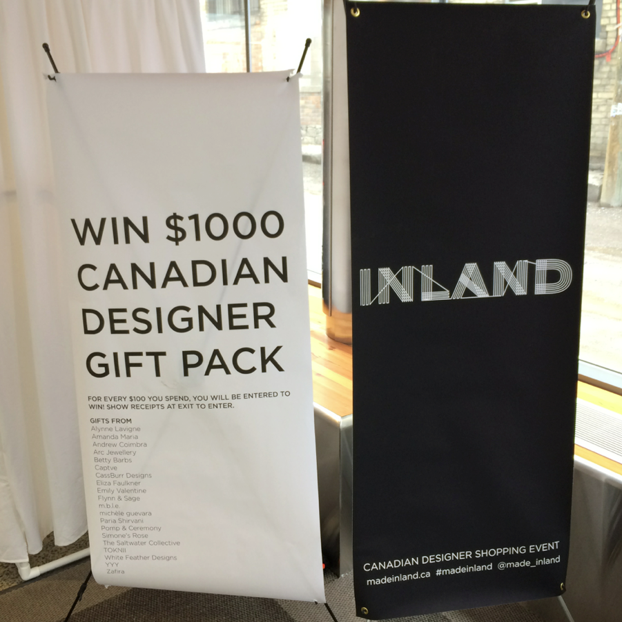 Canadian Fashion Shopping Event INLAND