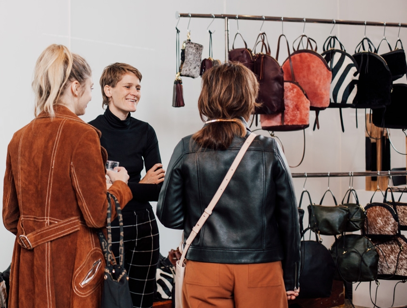 INLAND Canadian fashion shopping pop-up