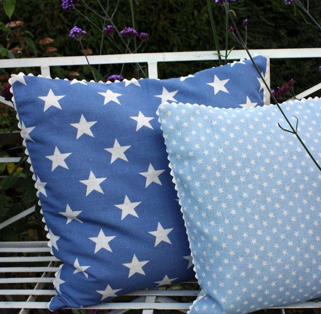 seaside star cushion from £30