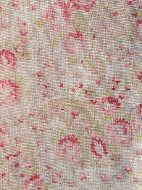 vintage paisley rhubarb