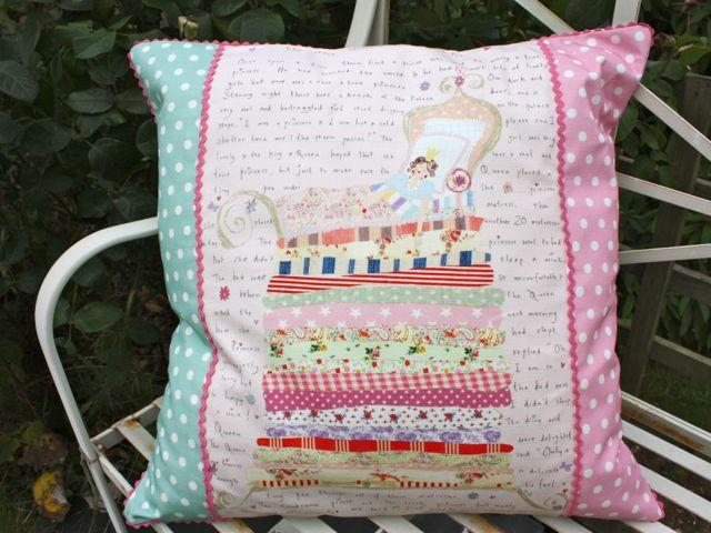 the princess and the pea cushion £40
