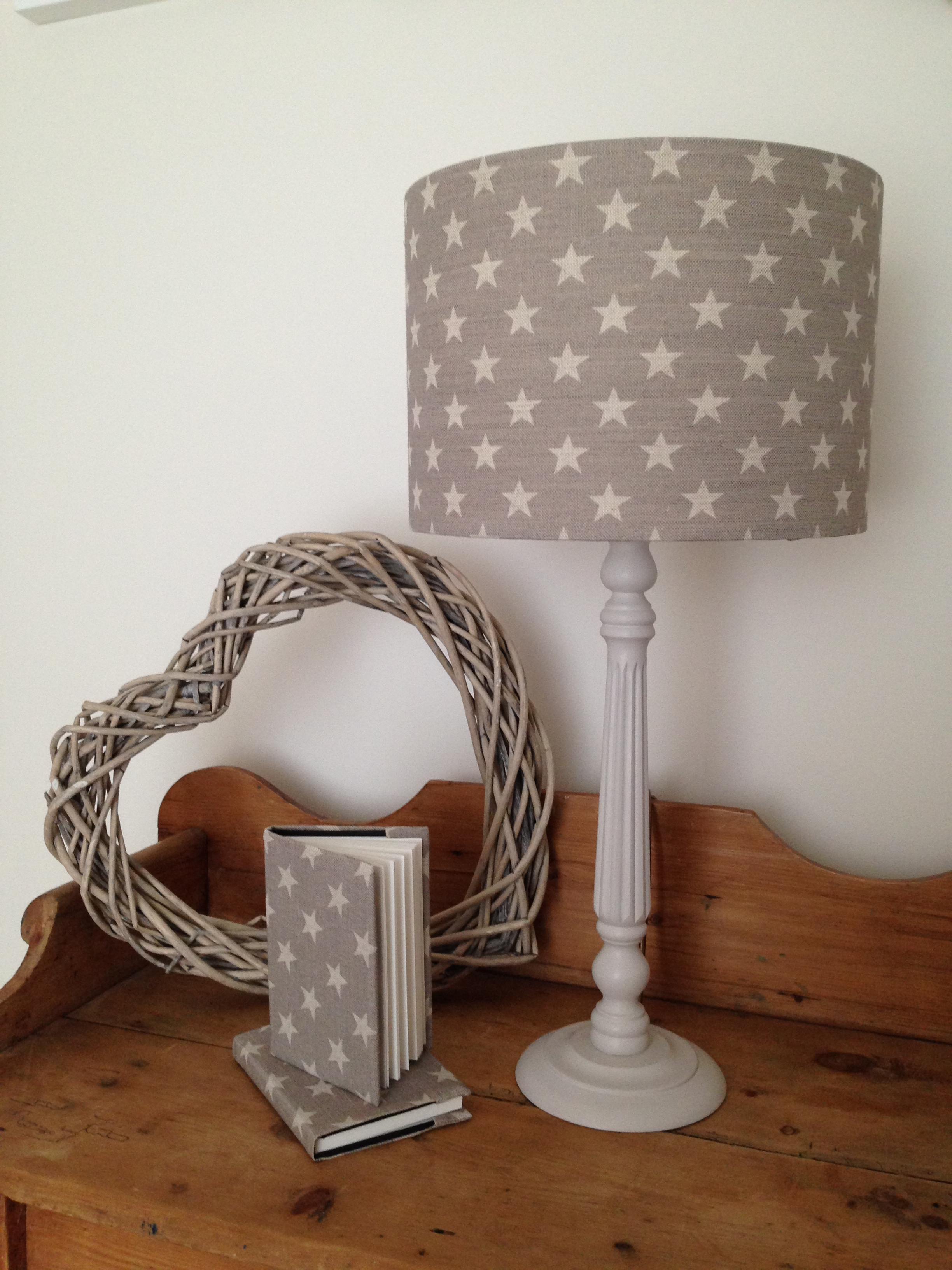 drum shades and lamps