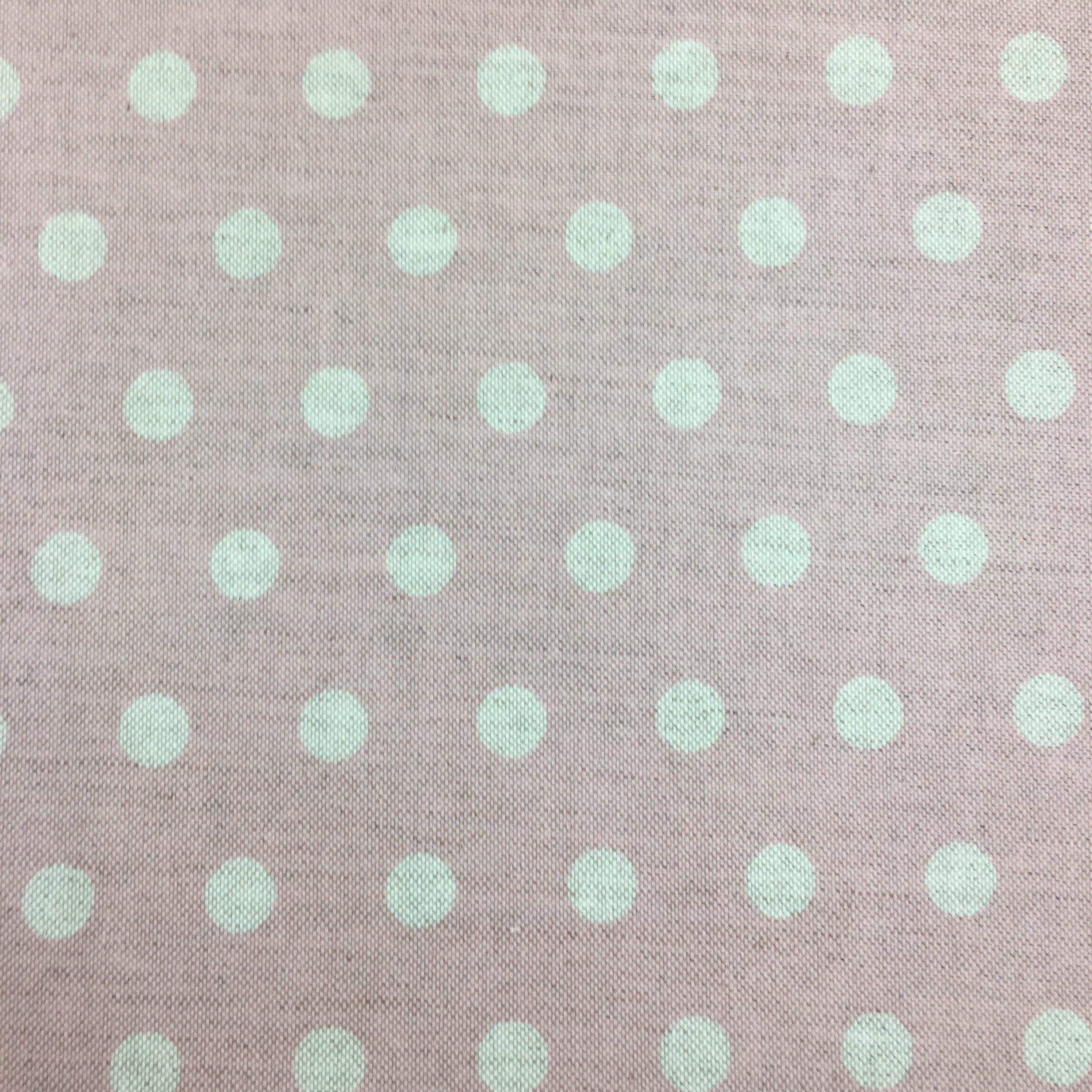 big polka dot shell pink