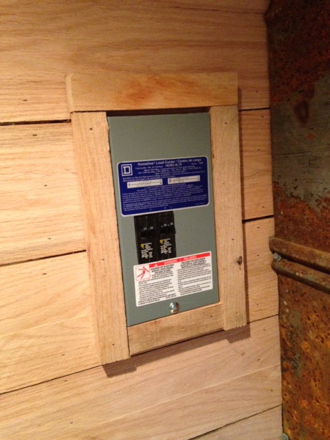 New breaker box, ready for action.