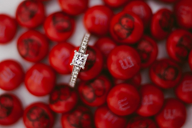 Shelby Chari Photography | South Bend Wedding Photographer | M&M Engagement Ring