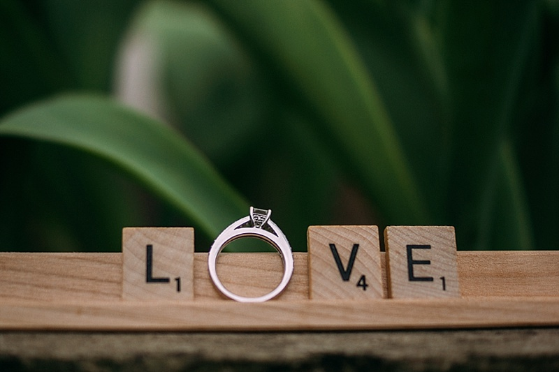Shelby Chari Photography | South Bend Wedding Photographer | Notre Dame Ring Shot