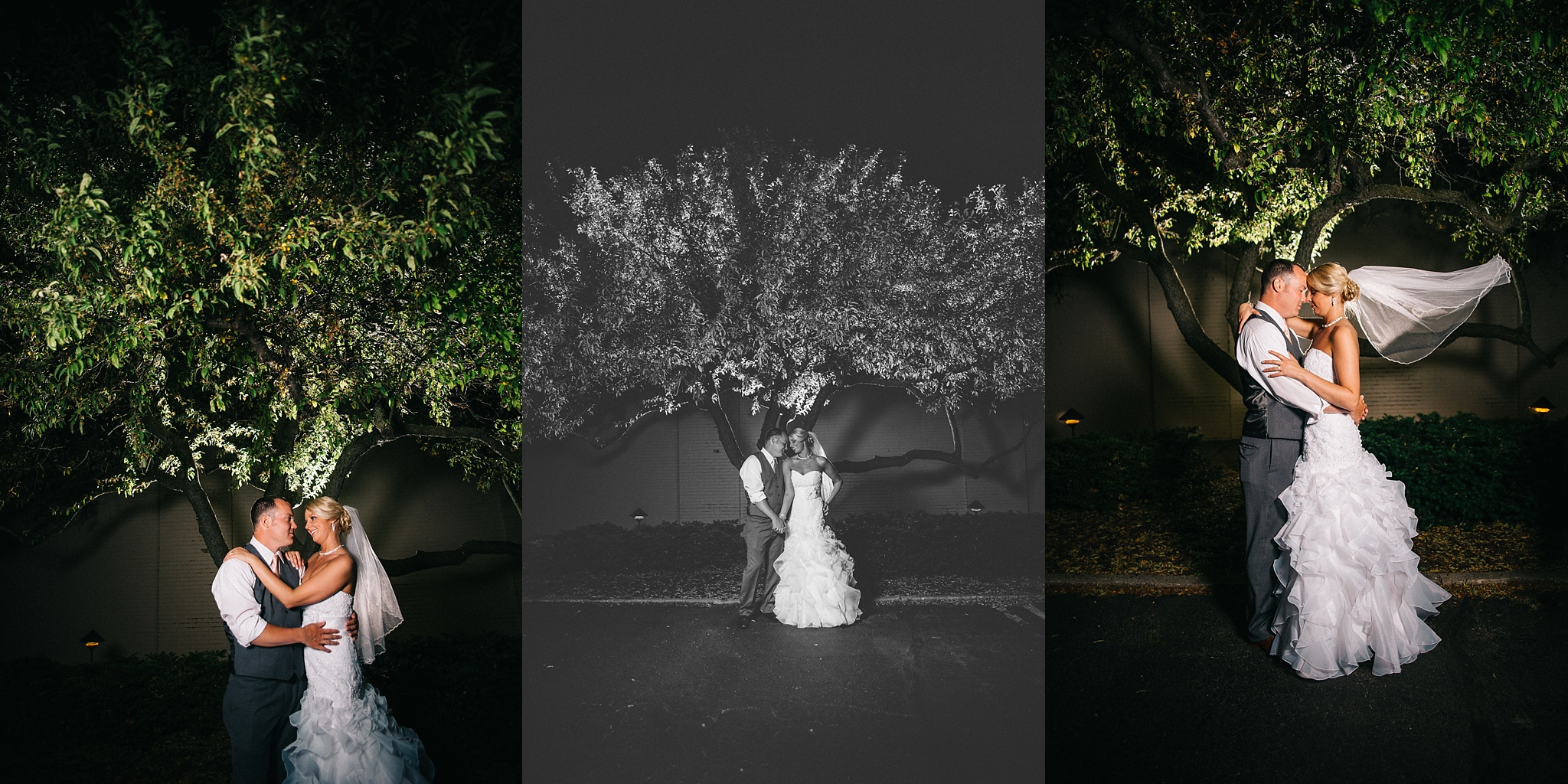 Shelby Chari Photography | South Bend Wedding Photographer | Night Portraits