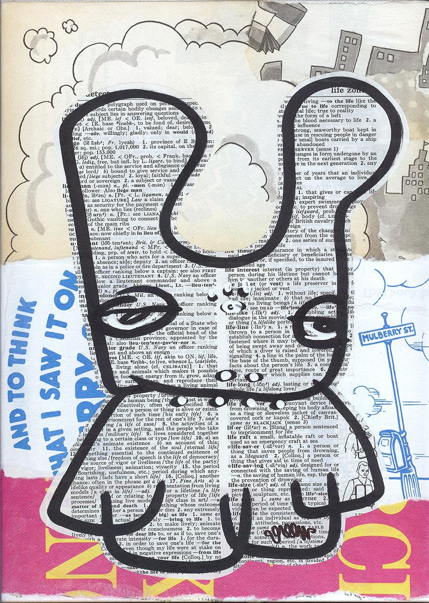 Crusty Mullberry Bunny