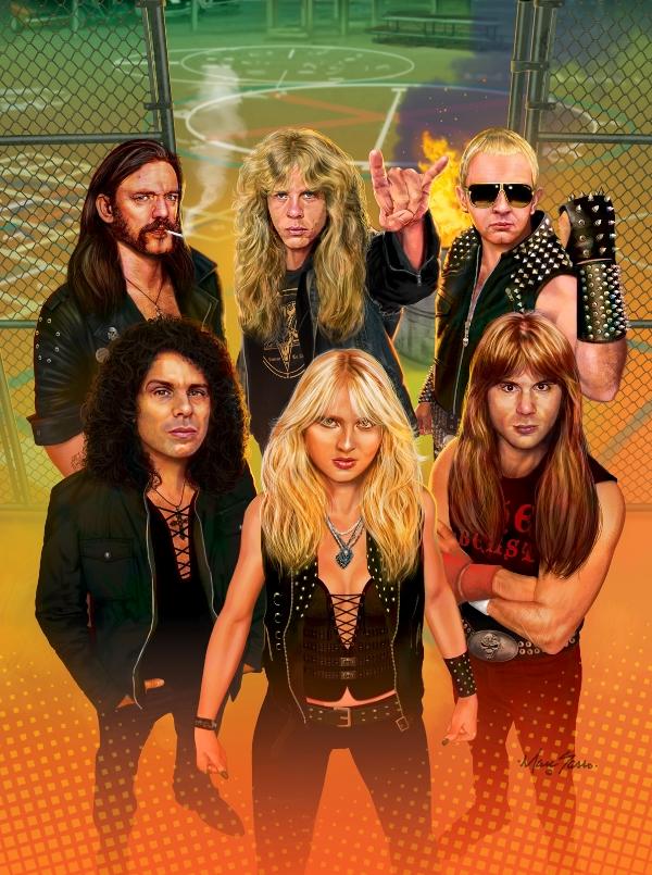 Hard Rock Magazine - Class Of 1984