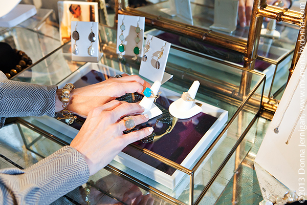 CHRYSOCOLLA RING, Meredith Jackson Jewelry