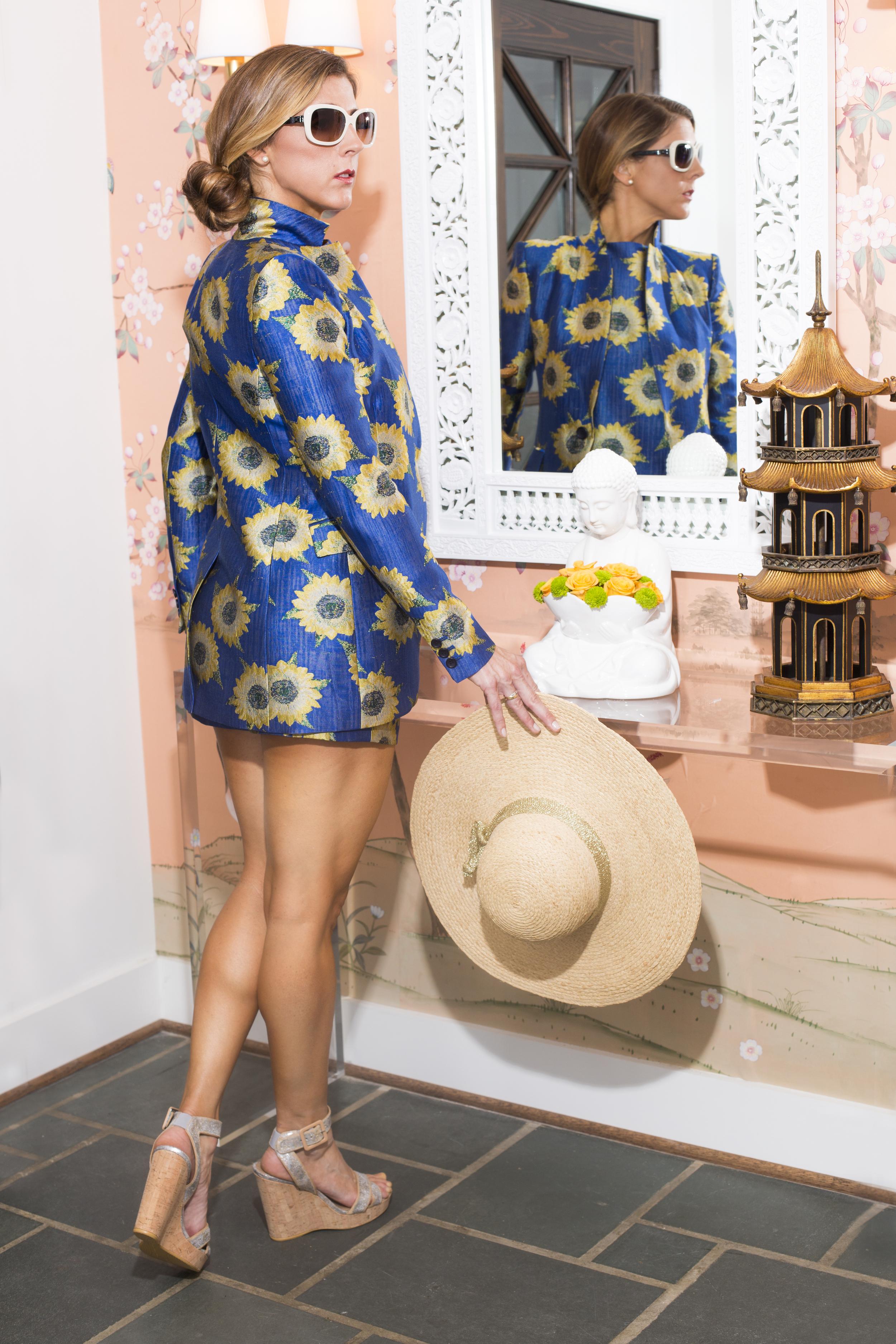 Alice + Olivia Sunflowers