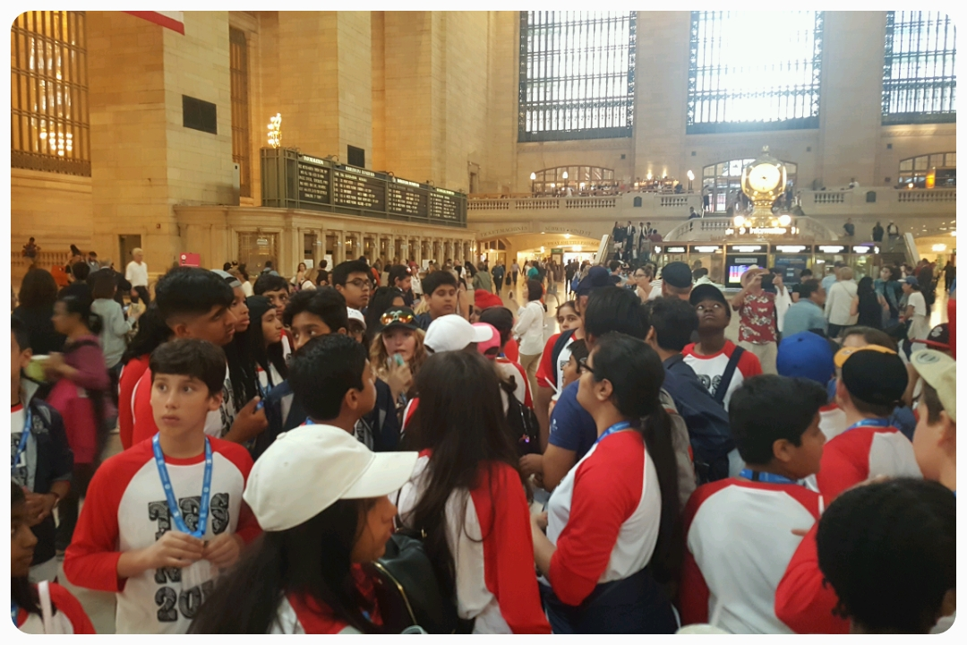 Grand Central Terminal. In America, all tracks lead to NYC (don't actually Google that).
