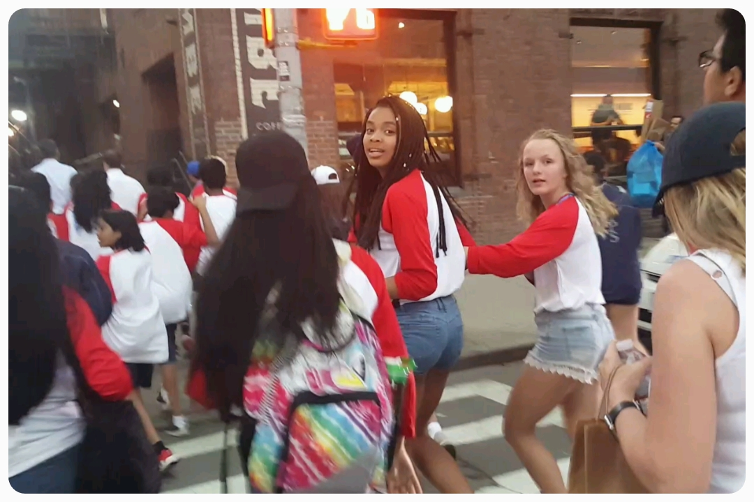 """""""Mr. Gill is still taking pictures?"""" - either Madison or Naomi, 2018"""