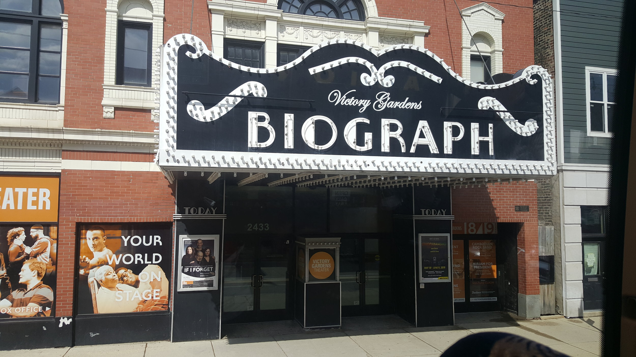 John Dillinger was gunned down by police just steps away from the Biograph Theatre.