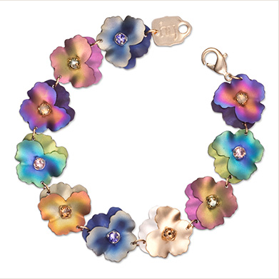 Pansy Bracelet $175