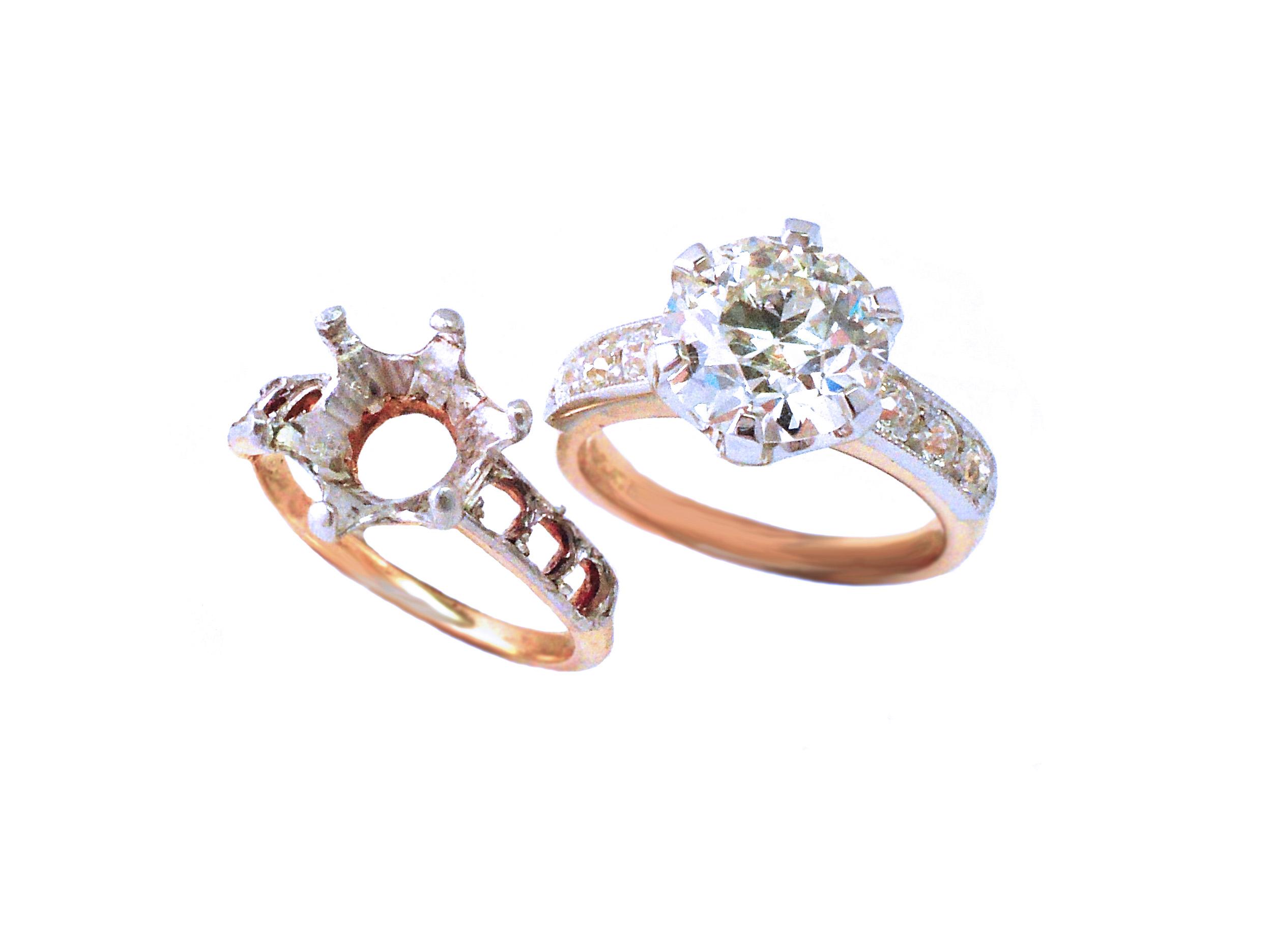 Replica Diamond Ring