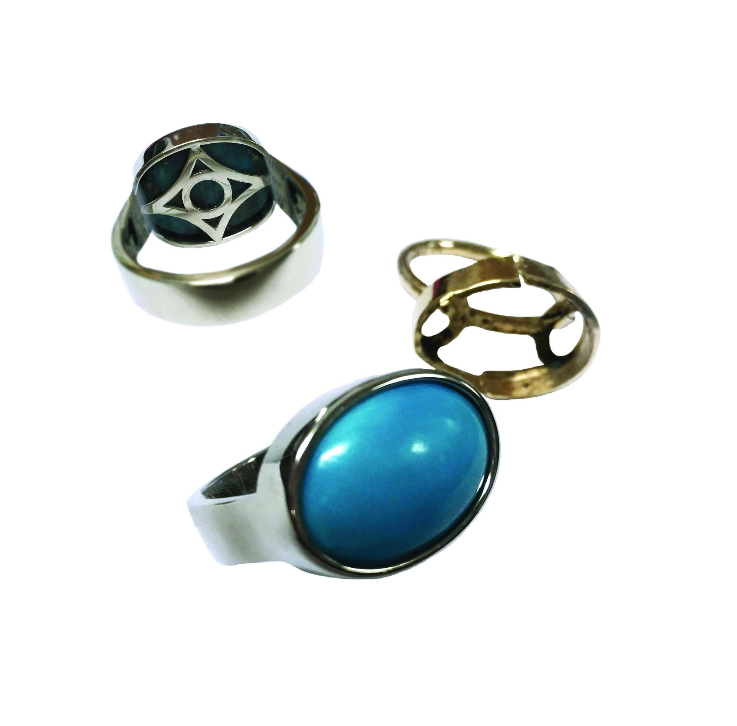Custom Turquoise Ring Rebuild