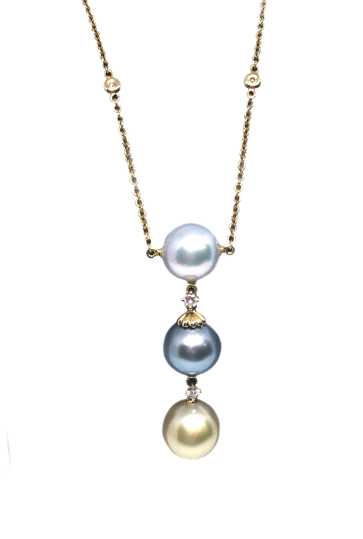 South Sea Pearl Drop Necklace