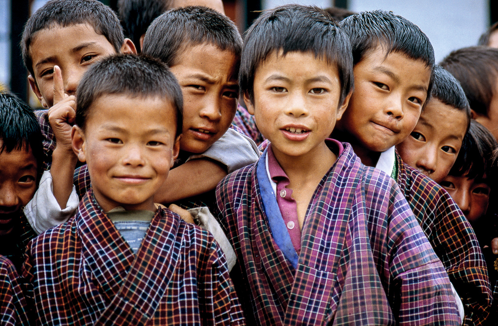 Children from Ura School