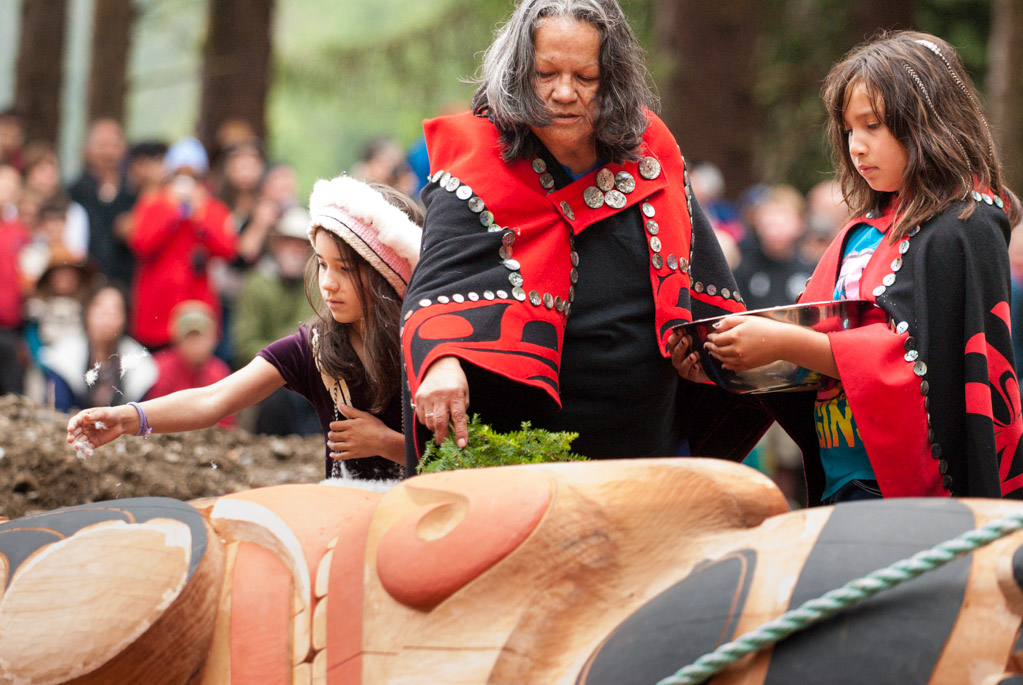 Traditional Haida Blessing