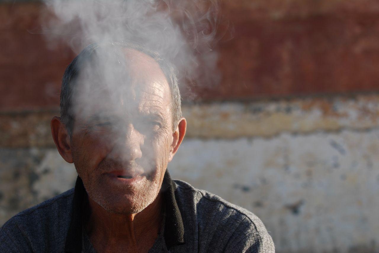 Morning smoke or mourning smoke?