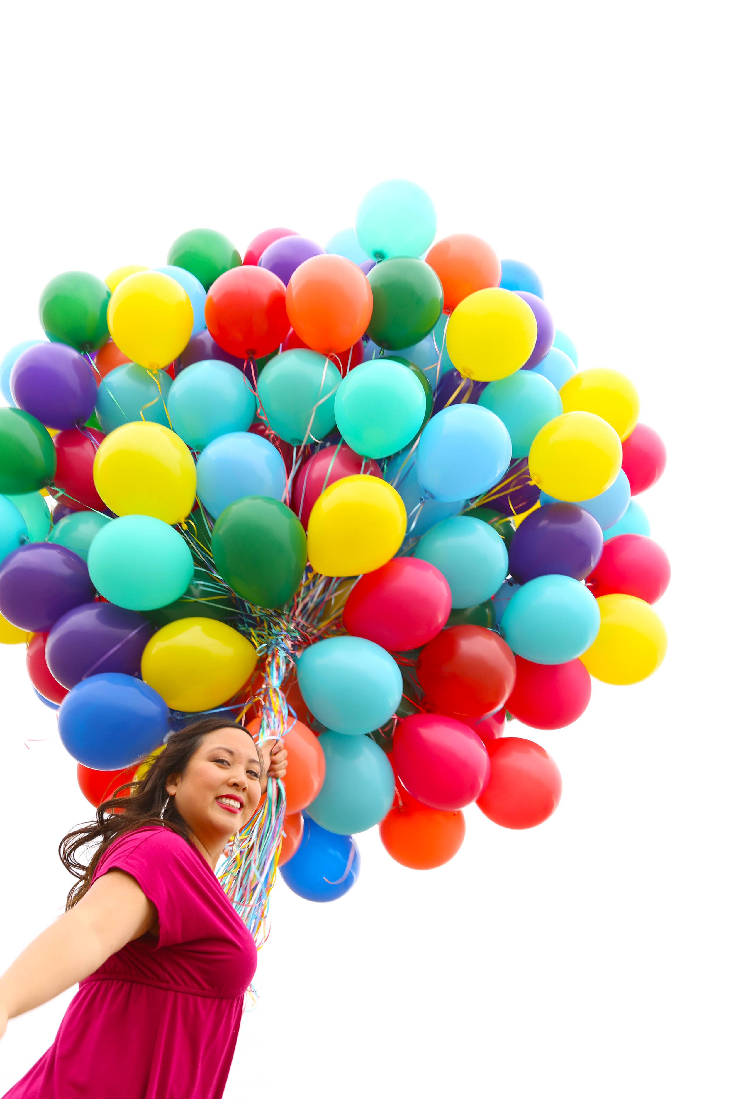 Me and 200 Balloons!:}