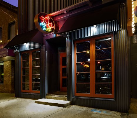 The exterior of The Drinkingbird image via   The Business Insider