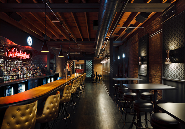 The main lounge, image via   The Drinkingbird