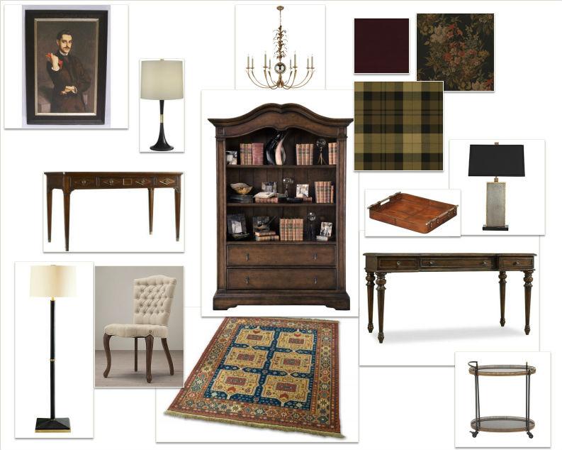Lisa Gilmore Design  Sherlock Holmes  Inspiration Board