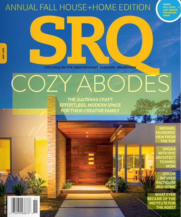 SRQMagazine. November 2015. LisaGilmoreDesign